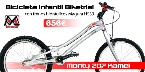 Monty 207 Kamel 2013 Biketrial infantil ABANT BIKES