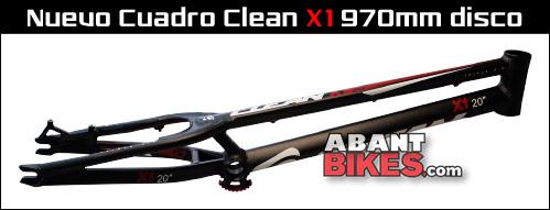 Clean cuadro 970 mm para disco - ABANT BIKES BikeTrial Trial
