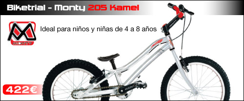 Monty 207 Kamel Bicicleta Biketrial Infantil ABANT BIKES