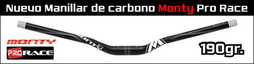 Nuevo manillar de carbono Monty Pro Race para BikeTrial - ABANT BIKES