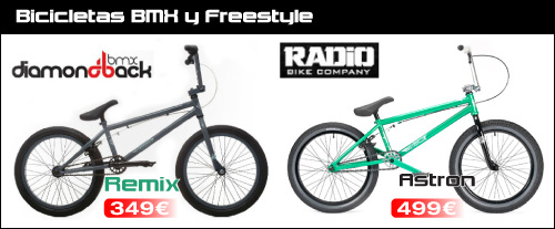 Bicicletas BMX ABANT BIKES Diamondback Remix Radio Astron
