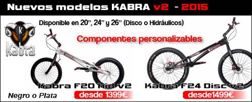 Kabra v2 20 24 26 - 2015 nuevos modelos en Abant Bikes
