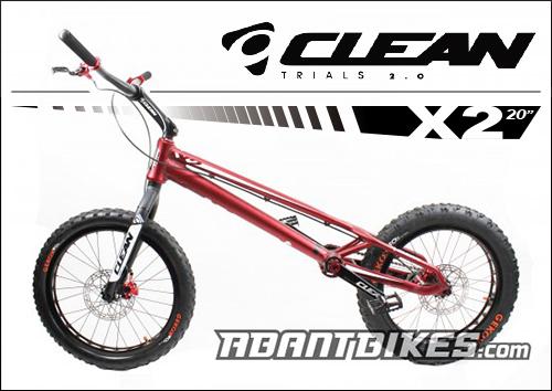 Clean X1 New Trial Bike - ABANT BIKES