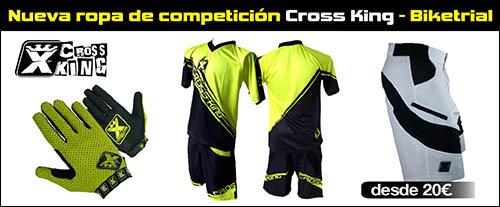 Cross King - Ropa de competición de biketrial - Abant Bikes
