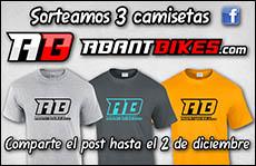 Sorteo 3 camisetas ABANT BIKES 2016 BikeTrial