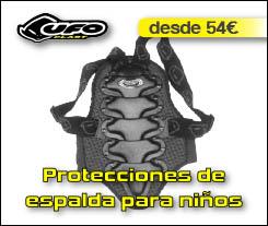 Protecciones de espalda UFO para niños - Abant Bikes