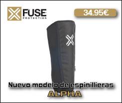 Espinilleras FUSE Alpha - Abant Bikes