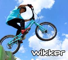 Wikker Bikes logo - Abantwins bici bike kids nios