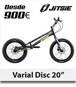 ABANT BIKES OFERTA Bicicleta biketrial Jitsie Varial Disc Regalo Camiseta
