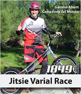ABANT BIKES Nueva Bicicleta trial JITSIE Varial Race Alejandro Montalvo Replica