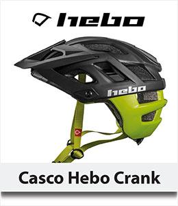 ABANT BIKES Oferta Casco Hebo Crank trial