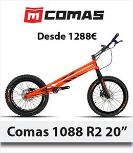 Nueva Bicicleta trial Comas R2 - Abant Bikes