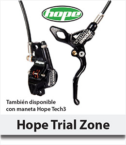 Frenos Hope Trial Zone Tech 3 - Abant Bikes