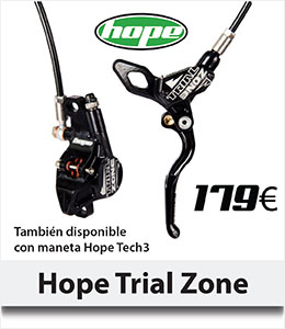 ABANT BIKES Oferta Freno HOPE Trial Zone Tech3 biketrial