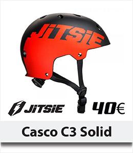ABANT BIKES Nuevo Casco Jitsie Solid C3 Rojo Bike Trial