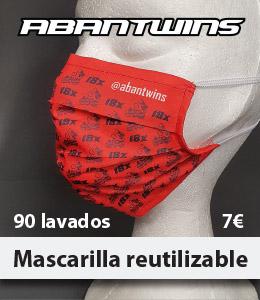 Nueva macarilla reutilizable AbanTwins ligera comoda certificada dporte