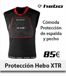 ABANT BIKES Nueva proteccion espalda y frontal Hebo XTR