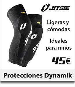 ABANT BIKES Protecciones piernas espinilla rodilla Jitsie Dynamik trial
