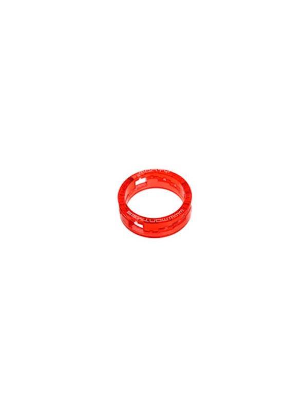 Casquillo dirección Monty regulable / ajustable - Casquillo de dirección ajustable Monty. Se puede regular la altura del casquillo de 10 a 15mm mediante 5 posiciones distintas. Las dos piezas quedan encajadas e inamovibles.
