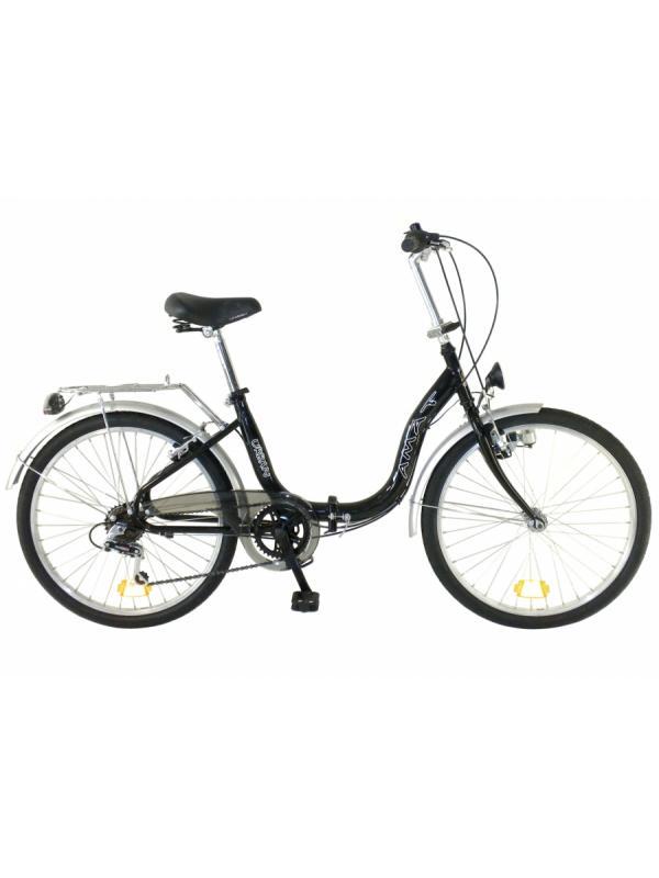 Amat Urban 24 pulgadas bicicletas plegables  - Bicicleta urbana de 24 pulgadas plegable. 6 velocidades. Chasis diseñado para subirse y bajarse muy fácilmente