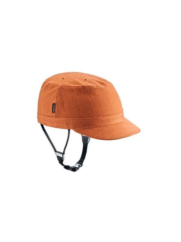 Funda Yakkay París Naranja - Funda adaptable al casco Yakkay. Siente la seguridad de un casco sin dejar de ir a la moda. El casco más fashion del mercado. Multitud de fundas, colores y estilos. Encuentra la funda que más se adapta a tu personalidad. Yakkay: el casco con más estilo!!.