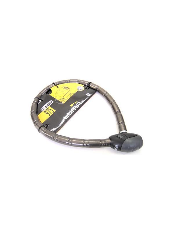 Antirrobo articulado Enduro - Antirrobo articulado LUMA con cierre de alta seguridad. 100 cm de largo
