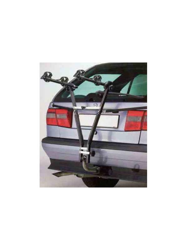 Portabicis New Cruising - Portabicis fabricado en acero para vehículos con bola de remolque. Muy fácil instalación. Cerrado ocupa muy poco espacio para llevar en el maletero. Apto para 2 bicicletas.