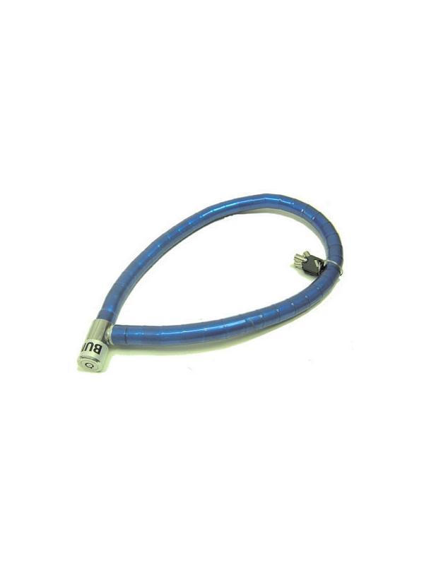Antirrobo articulado 18mm - Antirrobo articulado por cilindros metálicos de acero con cierre de cabeza metálica. 100cm de largo y diámetro de 18mm. Llave de tubo. Cabezal C25.