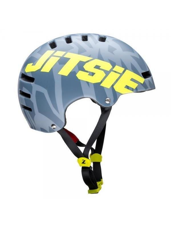 Casco Jitsie Armor Kroko - Gris - Nuevo casco Jitsie Armor Kroko. Es un casco ligero, ideal para el trial con ventilación óptima gracias a su innovadora construcción y con un nuevo diseño disponible en varias tallas y colores en mate.