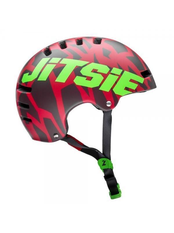 Casco Jitsie Armor Kroko - Rojo - Nuevo casco Jitsie Armor Kroko. Es un casco ligero, ideal para el trial con ventilación óptima gracias a su innovadora construcción y con un nuevo diseño disponible en varias tallas y colores en mate.