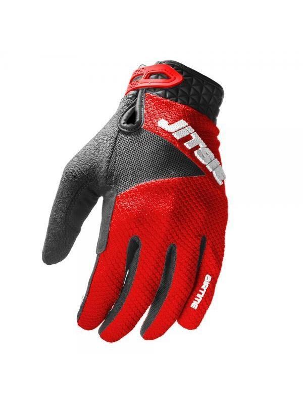Guantes Jitsie Airtime - Rojo - Los guantes Jitsie Airtime estan diseñados para la práctica del biketrial y en especial para la alta competición. Ofrecen la máxima comodidad, tacto y transpiración.
