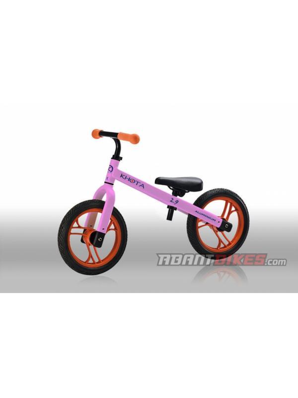 Bicicleta Khota 2.9 Push BikeTrial - Rosa (1.5 - 4 años) - Bicicleta Khota 2.90 Push Bike sin pedales para niños y niñas. Perfecta para aprender a ir en bicicleta y iniciarse en el mundo del BikeTrial.  LA BICICLETA SIN PEDALES MÁS LIGERA DEL MERCADO para niños y niñas entre 1.5 y 4 años.