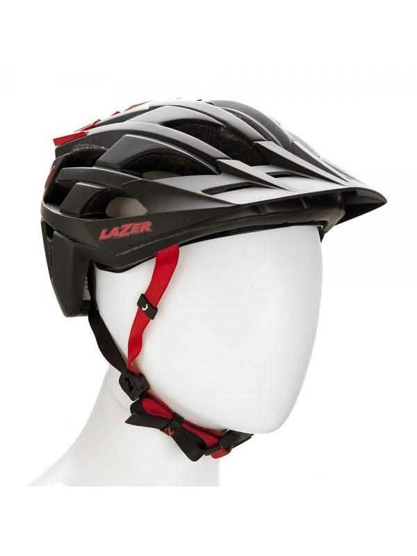 Casco Lazer Oasiz - Negro - Lazer Sport es conocido en el ciclismo como un verdadero innovador y el Oasiz es un casco muy ligero, cómodo y resistente que incorpora la última teconología en cascos. Cierre magnético para un rápido ajuste sin necesidad de quitarse los guantes.