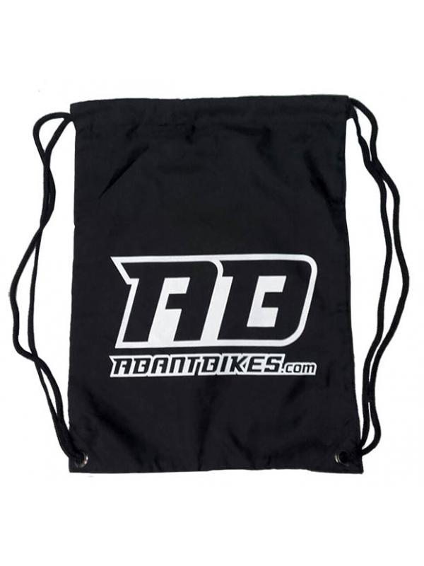Mochila de cordones oficial ABANT BIKES bolsa - Nueva mochila de cordones oficial Abant Bikes para llevarte todo lo que quieras a todas partes. Resistente y fácil de plegar.
