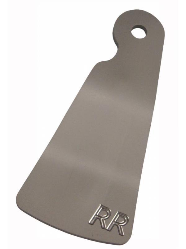 Protector CHORRILLAS disco trasero BikeTrial Trial - Protector para disco de freno trasero. Fabricado en aluminio de alta calidad. Se fija directamente con el tornillo de la rueda trasera. Usado por los principales pilotos del Mundial.