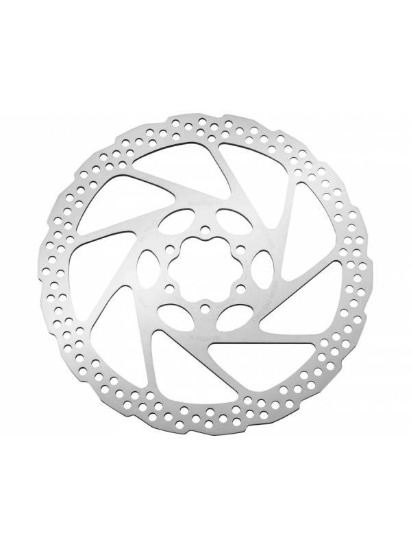 Disco Shimano SM-RT56 160mm - Disco Shimano SM-RT56 de 160mm de diámetro. Son fuertes y resistentes, recomendados para ninos en la pràctica del biketrial para evitar dobladuras del disco.  Compatible con los frenos Shimano M395 disponibles en Abant Bikes