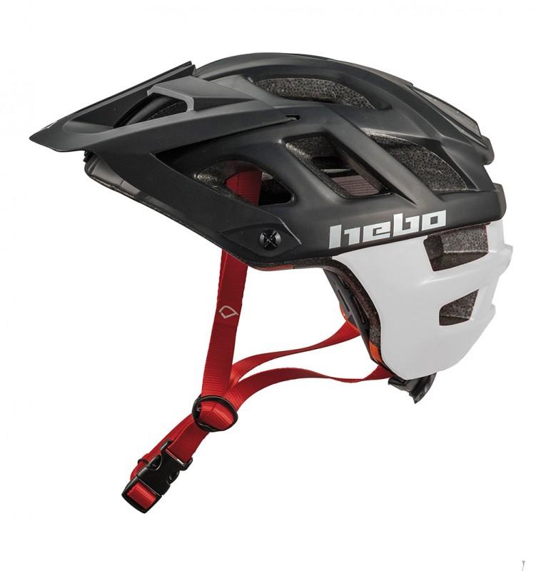 Casco Hebo Crank 1.0 - Negro/Blanco - Nuevo casco Hebo Crank 1.0. Es un casco ligero, ideal para el trial con ventilación óptima gracias a su innovadora construcción y con un nuevo diseño disponible en varias tallas y colores.