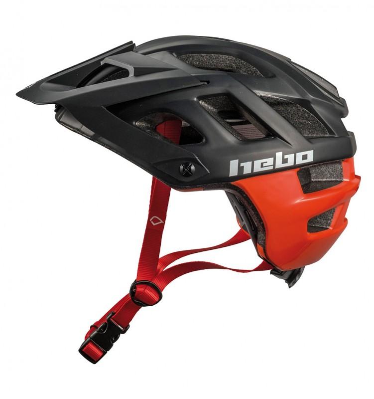 Casco Hebo Crank 1.0 - Negro/Rojo - Nuevo casco Hebo Crank 1.0. Es un casco ligero, ideal para el trial con ventilación óptima gracias a su innovadora construcción y con un nuevo diseño disponible en varias tallas y colores.