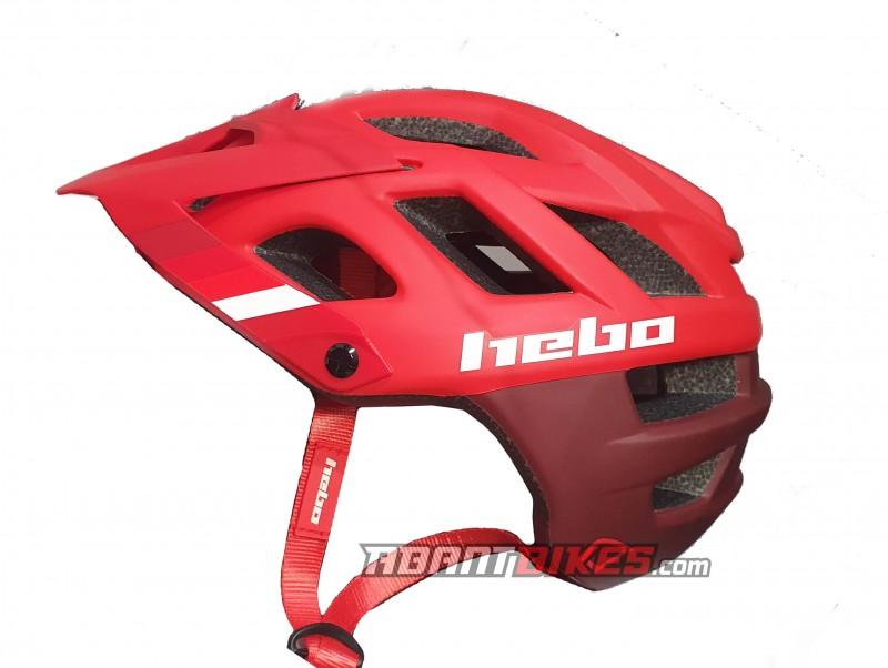 Casco Hebo Crank 2.0 - Rojo - Nuevo casco Hebo Crank 1.0. Es un casco ligero, ideal para el trial con ventilación óptima gracias a su innovadora construcción y con un nuevo diseño disponible en varias tallas y colores.