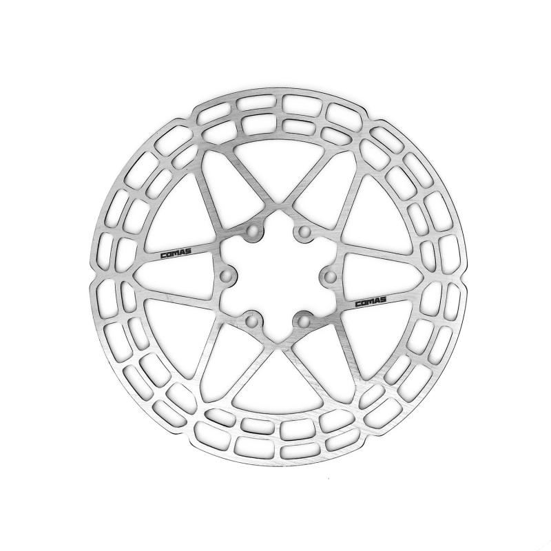 Disco de freno Comas 160mm - Delantero - Nuevos discos de freno Comas optimizado para los nuevos estilos de pilotaje. Disco delantero de 160mm. También disponible el disco trasero de 160mm.