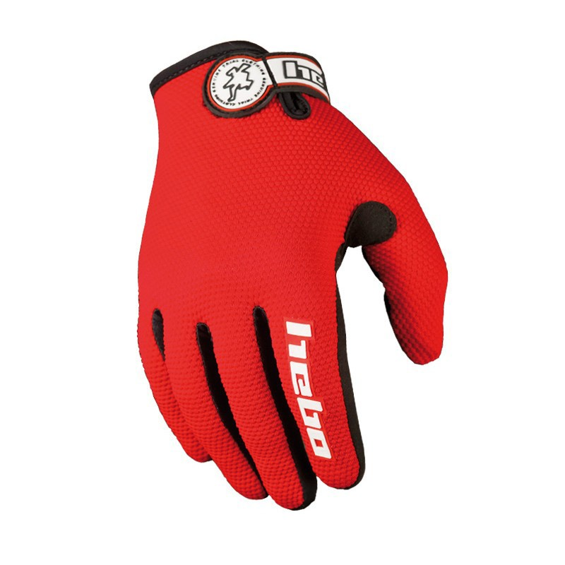 Guantes Hebo Trial Team - Rojo - Los guantes Hebo Trial Team estan diseñados para la práctica del biketrial y en especial para la alta competición. Ofrecen la máxima comodidad, tacto y transpiración.