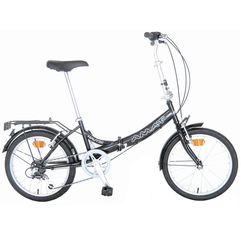 Amat Nautic acero shimano bicicletas plegables